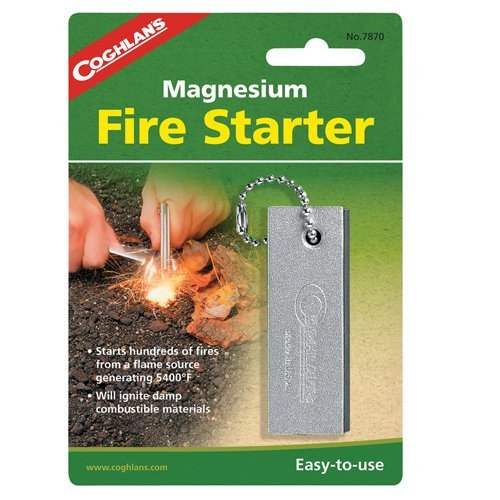 Lowest Prices! Coghlan'S Magnesium Fire Starter by Coghlans