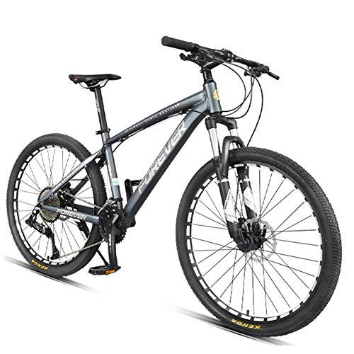 Xiaoyue 36-velocità Mountain Bike, Overdrive Sospensione 26 Pollici Full Alluminio Telaio della Bicicletta, Donne di età Mountain Trail Bike Uomo lalay