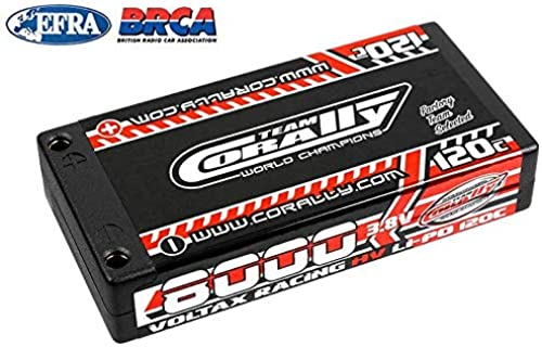 salida para la venta Team Corally - - - Voltax 120C LiPo HV Battery - 8000 mAh - 3.8V - 1S Hardcase - 4mm Bullit  alta calidad