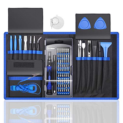 Our #3 Pick is the 80 IN 1 Professional Computer Repair Tool Kit