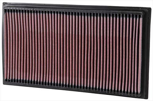 K&N 33-2747 Filtre à Air du Moteur: Haute Performance, Premium, Lavable, Filtre de Remplacement, Plus de Pouvoir, 1995-2003 (CLK430, CLK55 AMG, E200 Kompressor, E55, E220, E240, E250, E280, E290, E300, E320, E430)