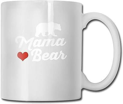 ママベア90セラミックコーヒーマグ男性用男性用男の子用夫妻11 oz