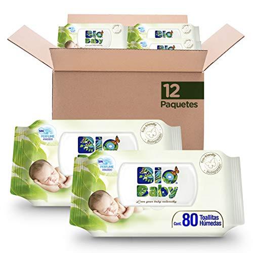 Toallitas Oculares  marca Bio Baby