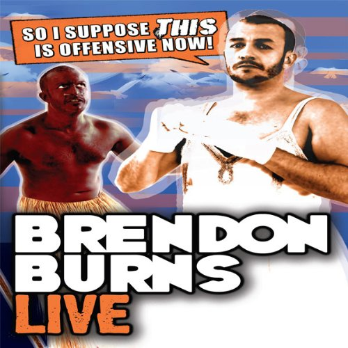 Brendon Burns Live audiobook cover art