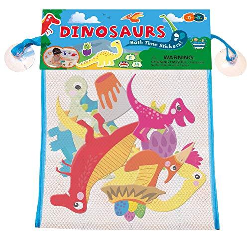 Buddy & Barney   Dinosaur Bath Stickers - Water Toy for Kids children   18 PIECES   BB087