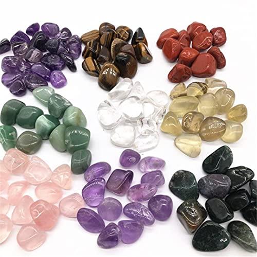 Cristales minerales de cuarzo natural, piedras grandes caídas, piedras preciosas curativas, pecera, decoración del hogar Tiger Eye 20-30mm
