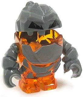 Rock Monster FIROX (Trans-orange) Power Miners Minifigure