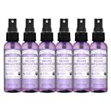 Dr. Bronner's - Organic Hand Sanitizer Spray (Lavender, 2 Ounce, 6-Pack) - Simple and Effective Formula, No Harsh Chemicals, Moisturizes and Cleans Hands