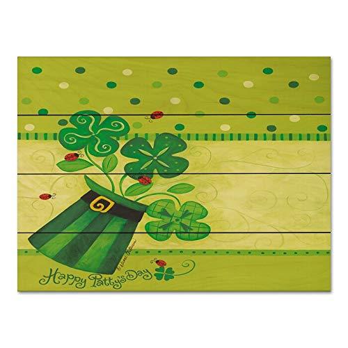 Personalisierbare Größe und Muster St. Patrick's Day und Marienkäfer Holzpaletten dekorative Schilder mit der...