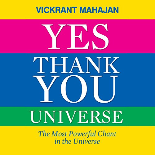 Yes Thank You Universe audiobook cover art
