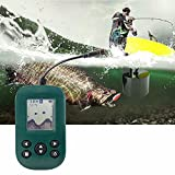 Buscador de Peces de sonda portátil - Buscador de Pesca inalámbrico de Mano Transductor de Kayak...