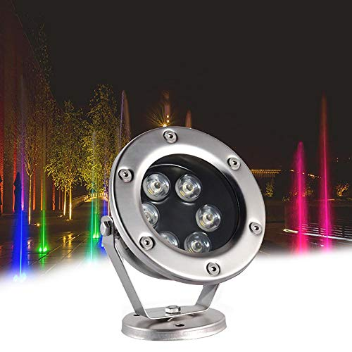 Duan Multi-Farben Unterwasserbeleuchtung, wasserdichtes LED-Licht, IP68 Wasserdichtes Teichlicht für Aquarium Parteien Gartendekor