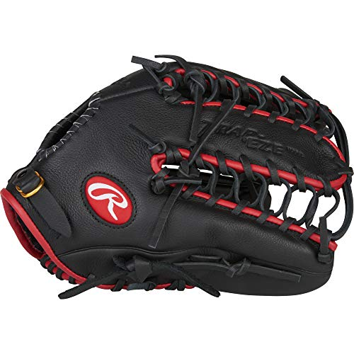 Rawlings Select Pro Lite Youth Baseball Glove, Black, 12.25""