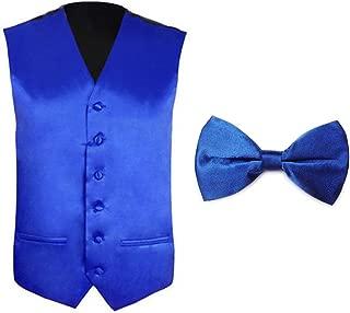 Tuxedo Wedding Dress Vest Set & Bow Tie Set for Men, Gift Idea