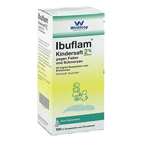 Ibuflam Kindersaft 2%, 100 ml Lösung