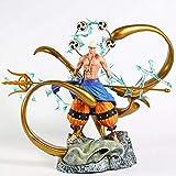 YDDM Una Pieza de Dios Entel Thunder y Lightning Worm GK Estatua Estatua Estatua Estatuilla 35 cm PVC Coleccionable Estatuilla Modelo Juguete