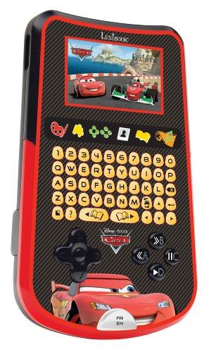 LEXIBOOK - KP100DCI1 - Tablette enfant multimédia bilingue (FR/GB) Disney Cars