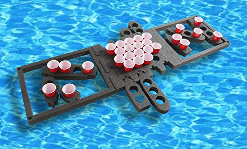 """Case Club Floating Battle Ship Beer Pong (2"""" Thick Heavy Duty Foam)"""