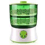 SISHUINIANHUA Brotes De Frijoles Termostato Verde Vegetal Plántula Crecimiento Cubo Automático Brote Eléctrico Bud Germinator Machine