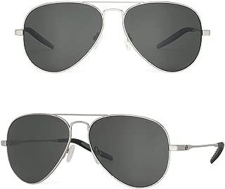 Bnus pilot aviator sunglasses for men women titanium frame corning glass lens polarized UV400 protection Italy made