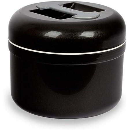 Valira 6212/114 Seau à glaçons Isotherme 2.5 L fabriqué en Espagne, Gris Anthracite, 2,5 L