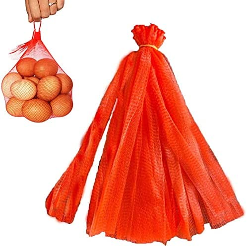 150 Pcs Plastic Mesh Produce Nylon Bags Columbus Mall Plast Reusable Net San Francisco Mall
