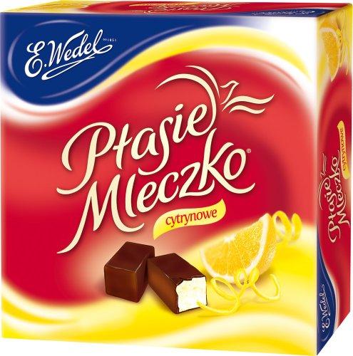 Ptasie Mleczko - Pralinen - Zitrone // Ptasie Mleczko - Cytrynowe - Wedel