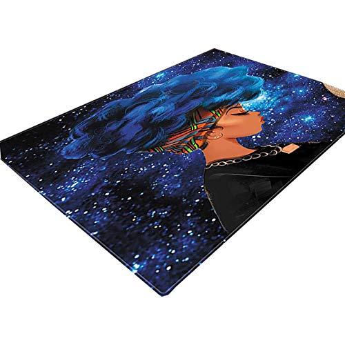NgMik 3D Vision Teppich 3D Ozean Printing weiche Unterseite Teppich Wohnzimmer Couchtisch Absorbent Teppich Schneiden Anti-Rutsch-Schlafzimmer-Bett-Matten 02 Rutschfester Teppich