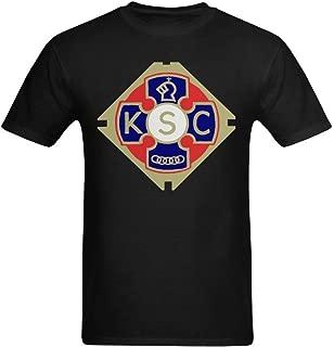 youranli Hombres de los Caballeros de St Columba organización católica camisetas