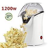 Best Hot Air Popcorn Poppers - Popcorn Maker, Popcorn Machine, 1200W Hot Air Popcorn Review
