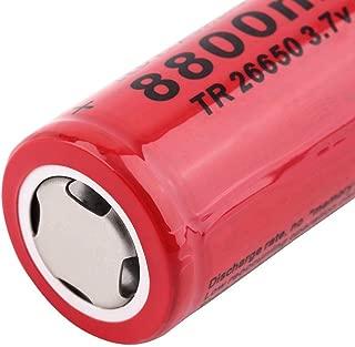 Hot 3.7V 8800mAh TR26650 Li-ion Rechargeable Battery for LED Flashlight UL