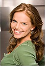 Drive (TV Series 2007 - ) (8 inch by 10 inch) PHOTOGRAPH Mircea Monroe from Chest Up w/Brushed Metal Background kn