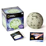 NATIONAL GEOGRAPHIC Glowing Moon Money Bank for Kids - Large Coin Slot...
