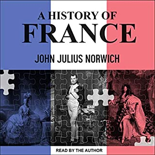 A History of France audiobook cover art
