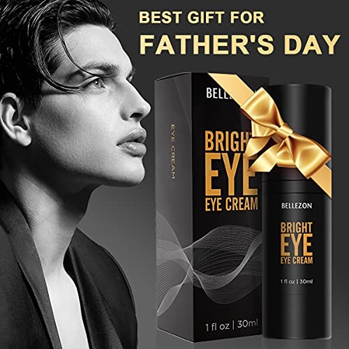 Eye Cream for Men, Anti-aging, Fade Out Dark Circle, Reduce Puffiness and Wrinkle ,Under Eye Cream with Hyaluronic Acid/30ml