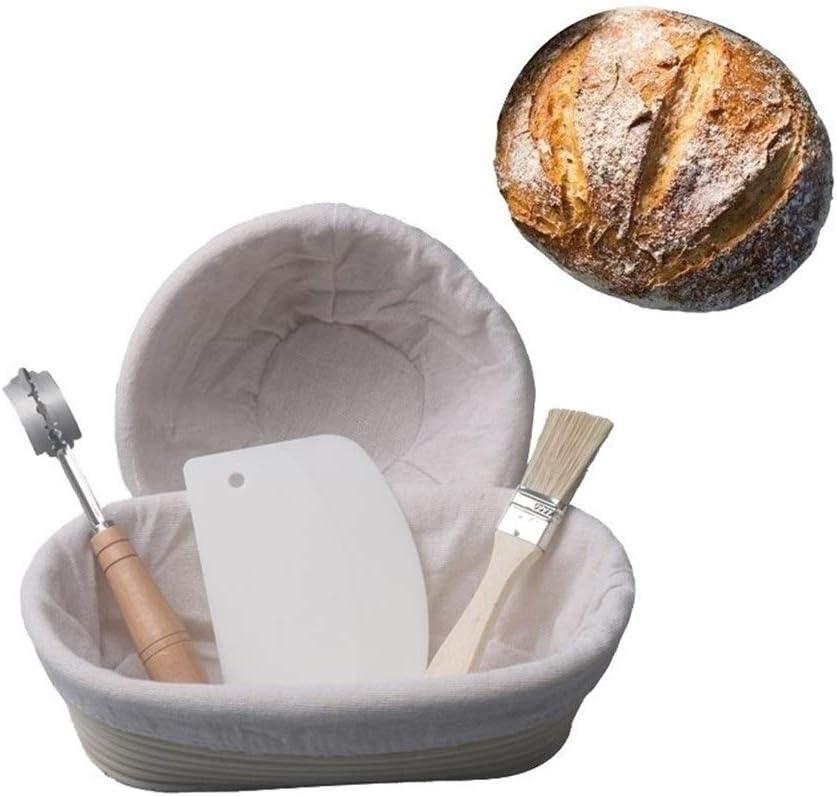 3°Amy 55% OFF Bread Proofing Baskets 5 online shopping Bask Fermentation Rattan