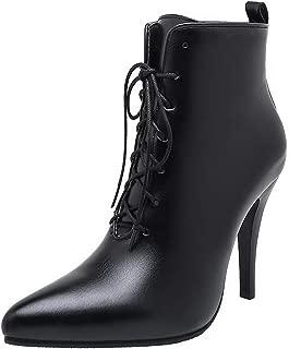BalaMasa Womens ABS13918 Pu Boots