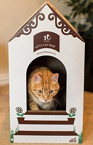 Ten Second Litter Box (2 Cottages W/10 Litter Boxes)