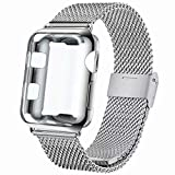 INZAKI Correa con Funda para Apple Watch 38mm,...