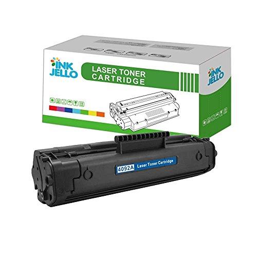 InkJello kompatibel Toner Patrone Ersatz für Per HP Laserjet 1100 1100A 1100A se 1100A xi 1100se 1100xi 3200 3200m 3200se C4092A/EP-22 (Schwarz)
