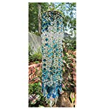 ertertre Garten Suncatcher, Blau Aurora Kristall Windspiele Glas Suncatcher Hängende Verzierung Hausgarten Ornamente