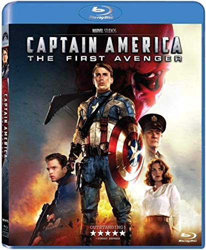 Captain America: The First Avenger (2011) [Blu-ray]