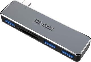 Fransande - Hub USB C per Pro/Air 5 in 1, USB 3.1 a porte USB 3.0, lettore di schede/TF