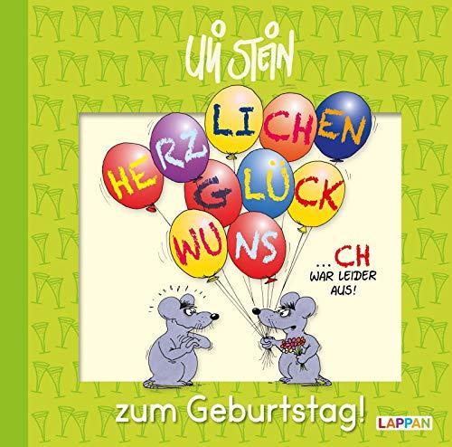 Herzlichen Glückwunsch zum Geburtstag! (Uli Stein Für dich!)