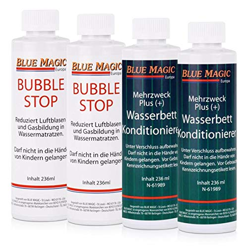 Blue Magic 2x KONDITIONIERER 236 ml und 2x BUBBLE STOP