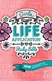 Tyndale NLT Girls Life Application Study Bible, Pink (Hardcover), NLT Bible with Over 800 Notes and Features, Foundations for Your Faith Sections
