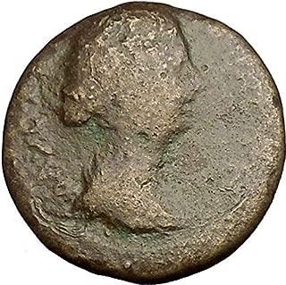 161 IT FAUSTINA II Marcus Aurelius Wife 161AD Pautalia T coin Good
