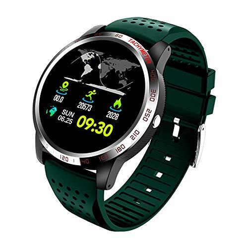 Zks Fitness Tracker, Schermo Touch ECG Fitness Orologio da Polso Impermeabile IP67 Smartwatch con Monitor della Pressione Arteriosa Frequenza Cardiaca E Pedometro,B