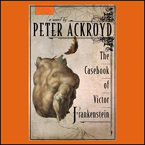 The Casebook of Victor Frankenstein  audiobook cover art