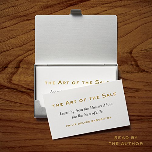 The Art of the Sale audiobook cover art